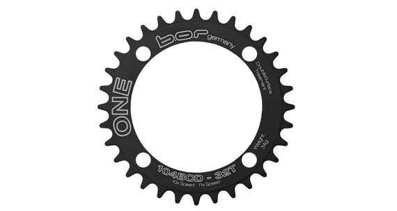 B.O.R Germany 1X kettingblad X01 104 BCD zwart